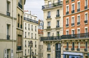 The picture is made during walk on a hill Montmartre